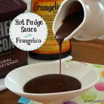 Homemade Hot Fudge Sauce with Frangelico is creamy, chocolatey perfection Scrumptious!! www.simplysated.com