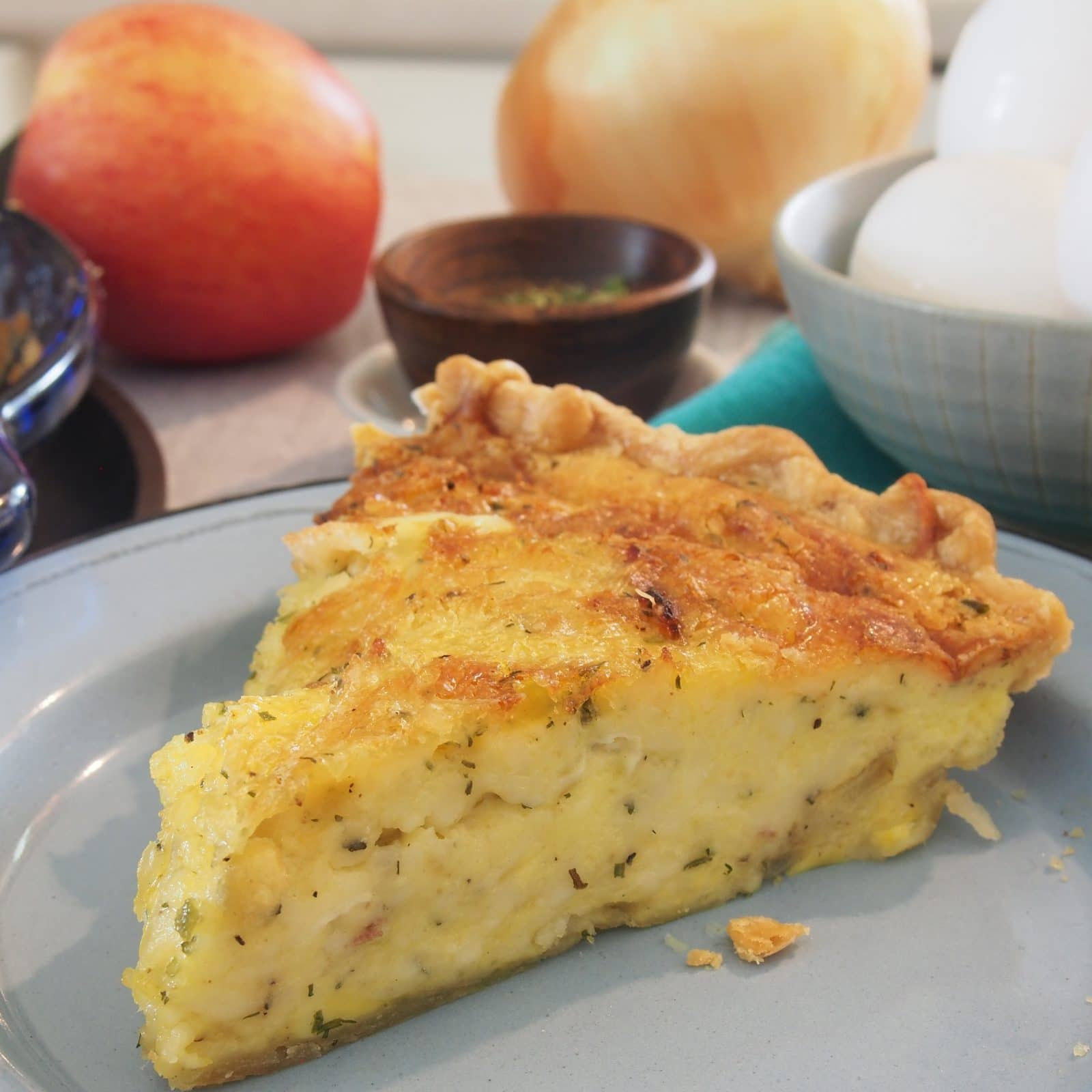 Perfect Quiche has the perfect texture, flavor combination, seasoning and it is gorgeous. It is versatile and the perfect meal anytime of the day.