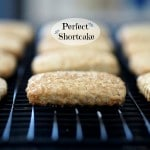 Perfect Shortcake is a cross between a biscuit and shortbread. A great base for shortcake. simplysated
