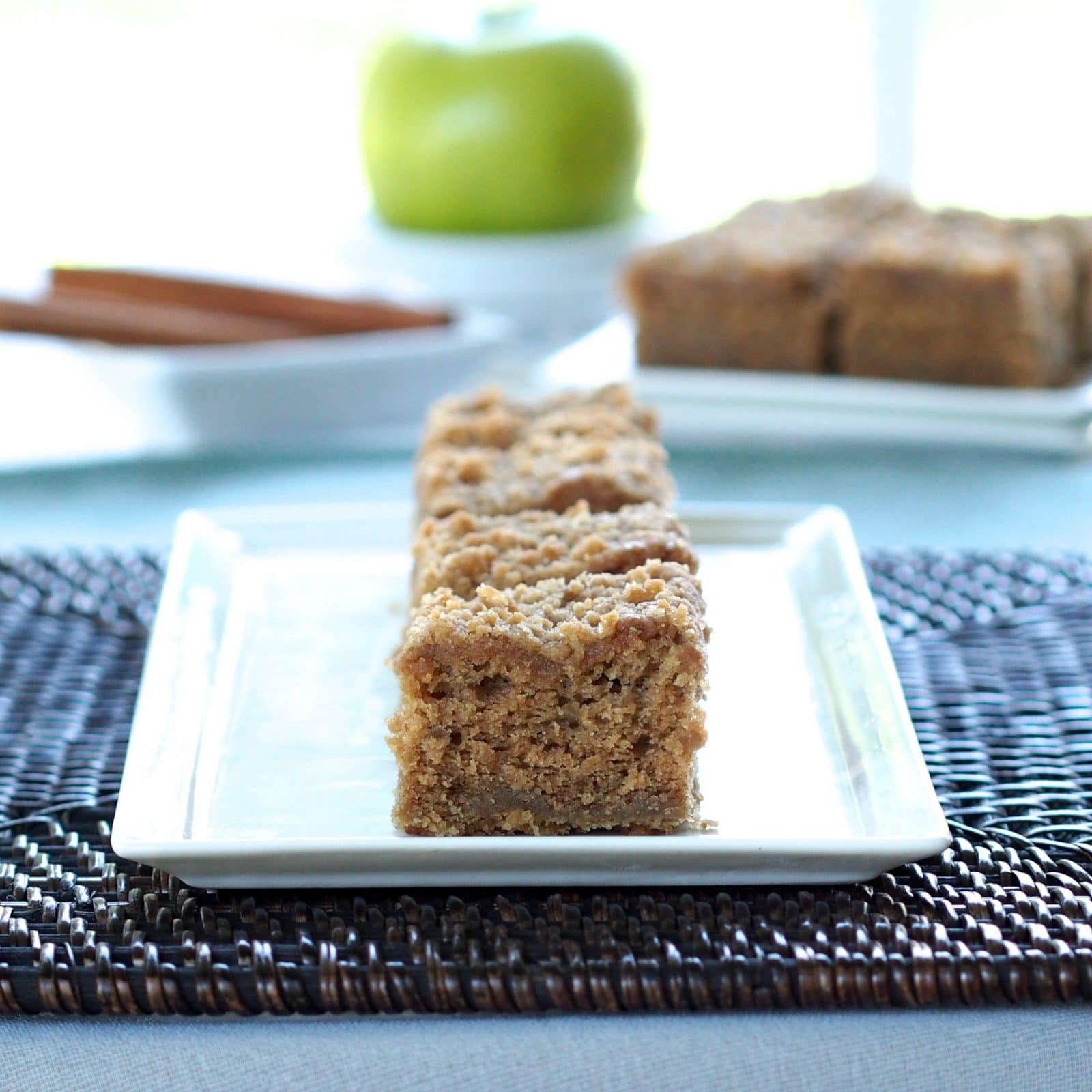 Apple Brown Sugar Coffee Cake is everything a great coffee cake should be - moist and filled with flavor. simply sated