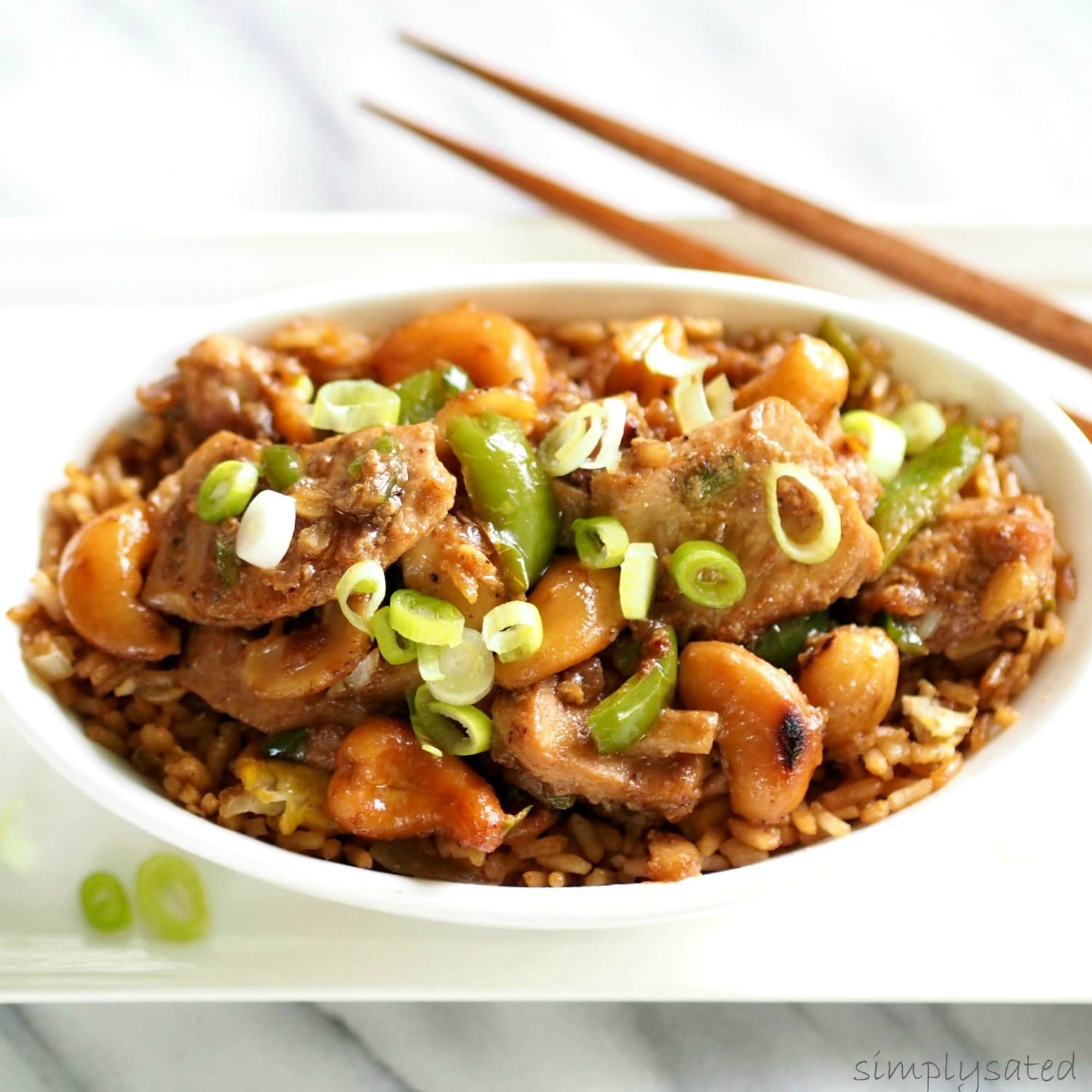 Cashew Chicken - make Chinese take-out your own by making it at home ...