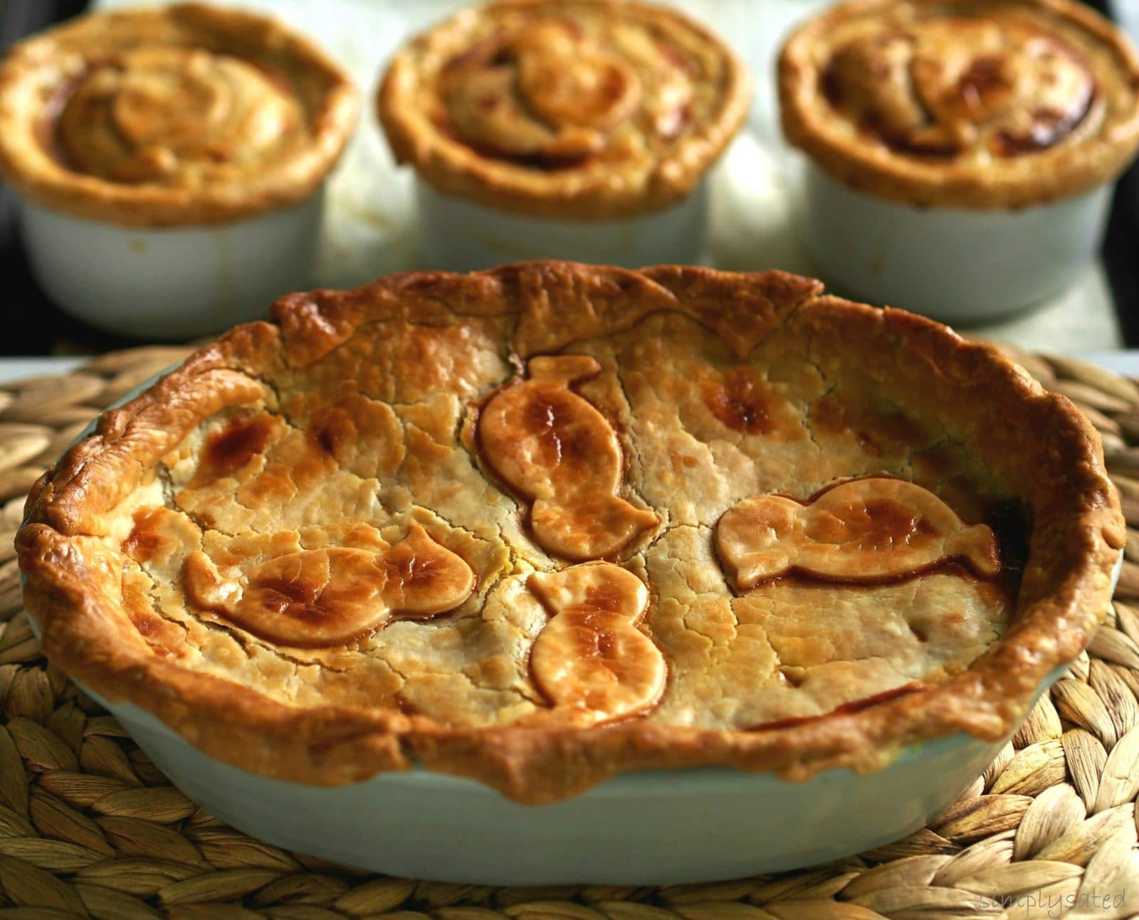 Chicken Pot Pie is the epitome of comfort food and this recipe has it all.