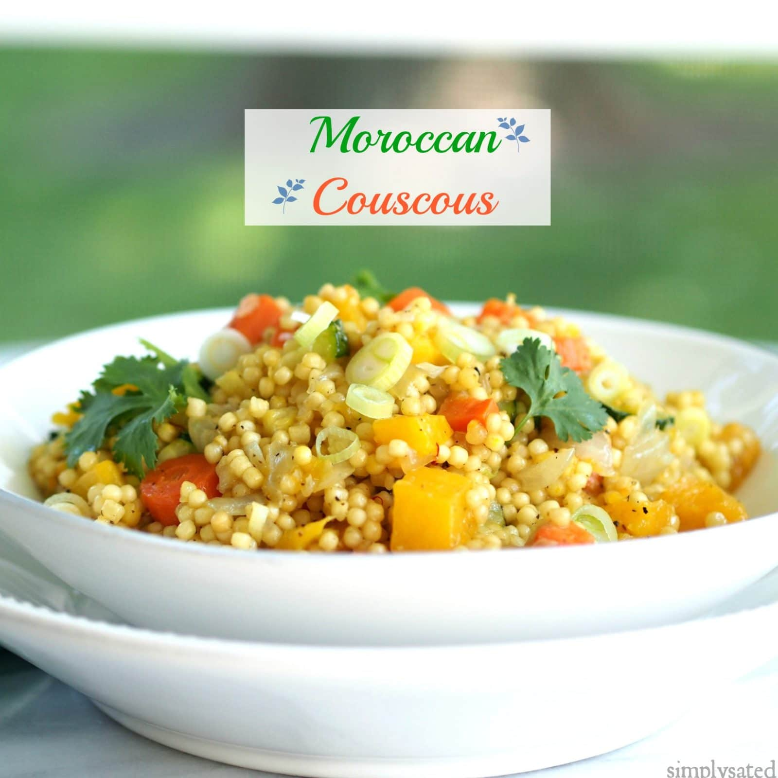 Moroccan couscous simply sated for Couscous food recipe