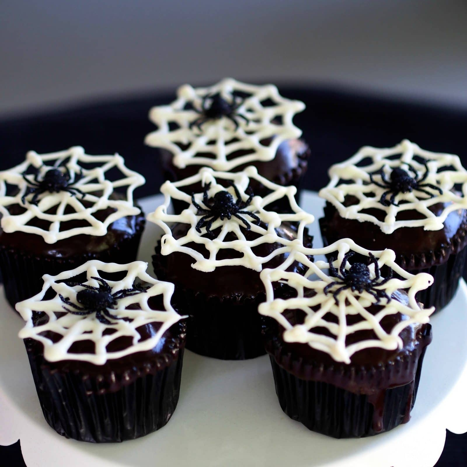 Spider Cupcakes - Simply Sated