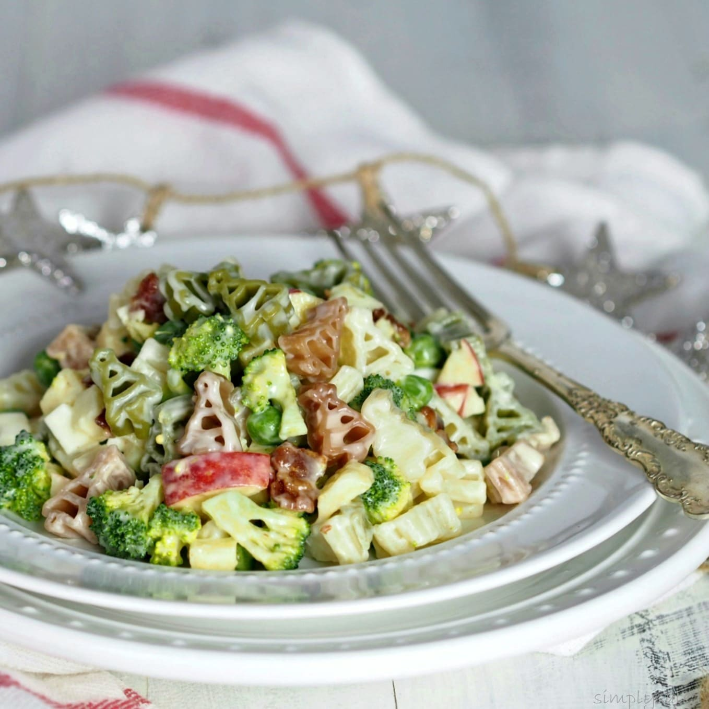 Broccoli Apple & Bacon Pasta Salad