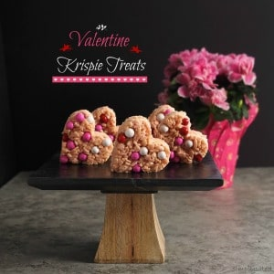 Valentine Krispie Treats