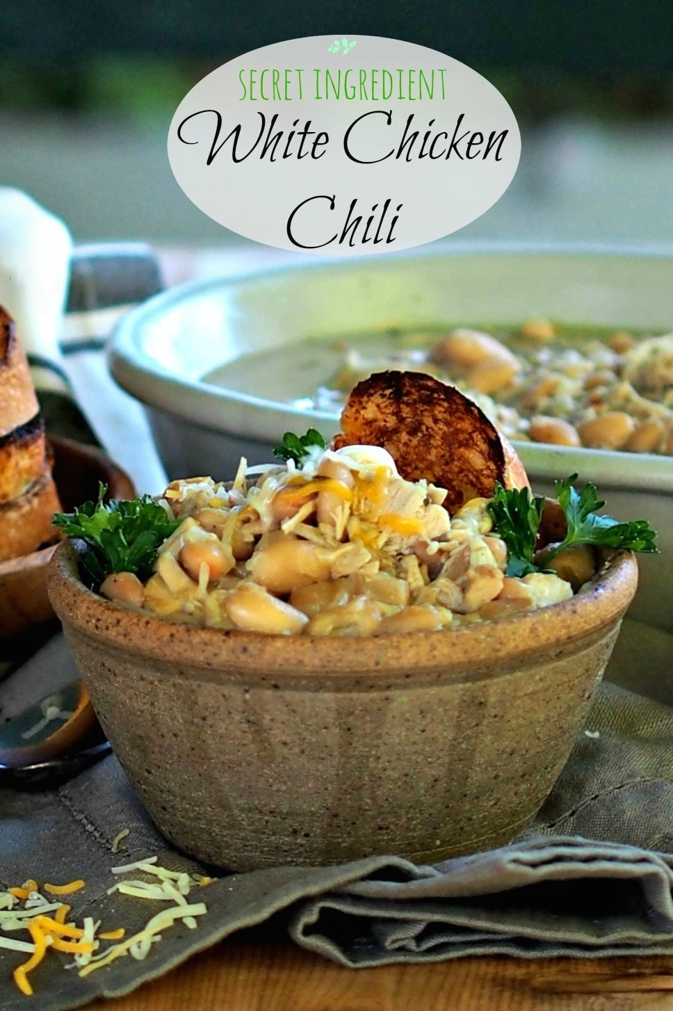 White Chicken Chili Simply Sated