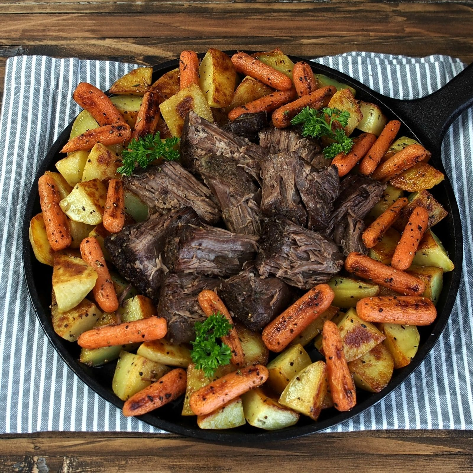 Perfect Pot Roast with Best-Ever Pot Roast Gravy is simply the BEST pot roast and pot roast gravy - ever! THIS is the pot roast & gravy dreams are made of. Simply Sated
