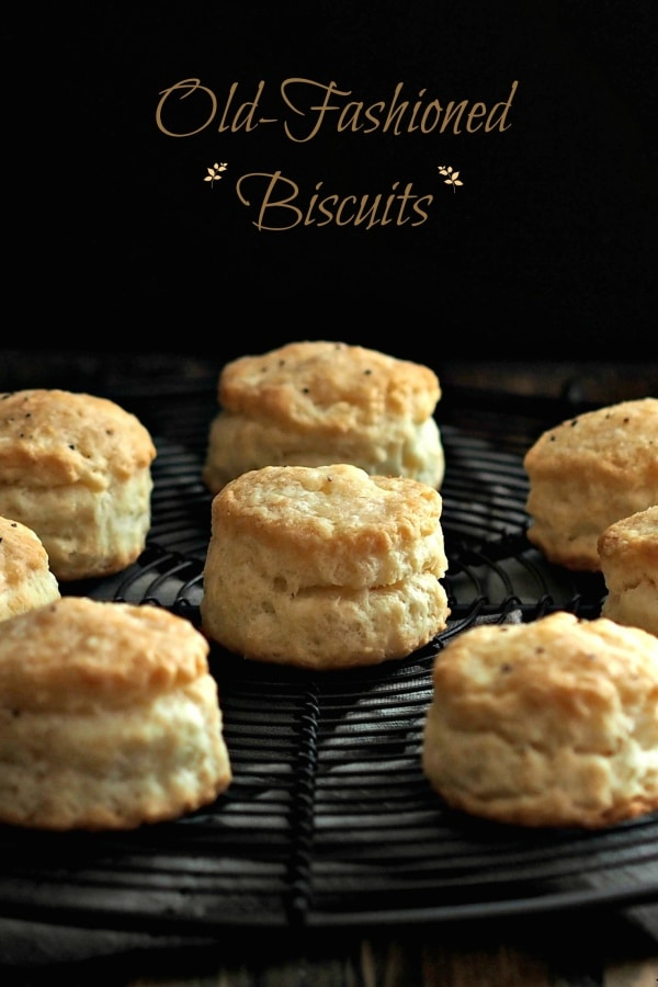 Old-Fashioned Biscuits made with White Lily, Self-Rising Flour are the perfect biscuit. Light and flavorful with a slightly crispy exterior. Simply Sated