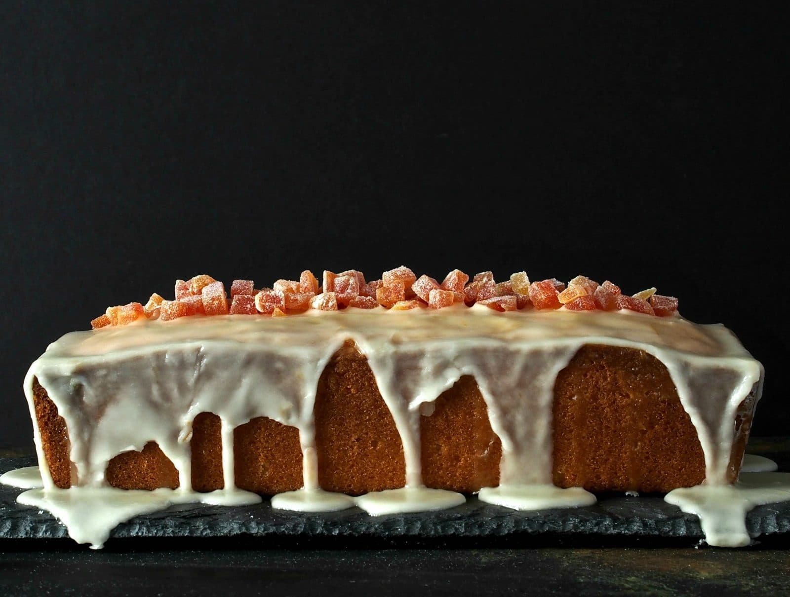 Grapefruit Pound Cake with Grapefruit Glaze - citrusy & sweet with a tender crumb. The perfect dessert for any occasion and will become a family favorite.