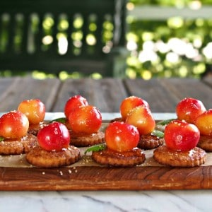 Rainier Cherry Pie Bites
