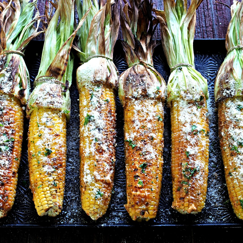 Grilled Corn - Simply Sated