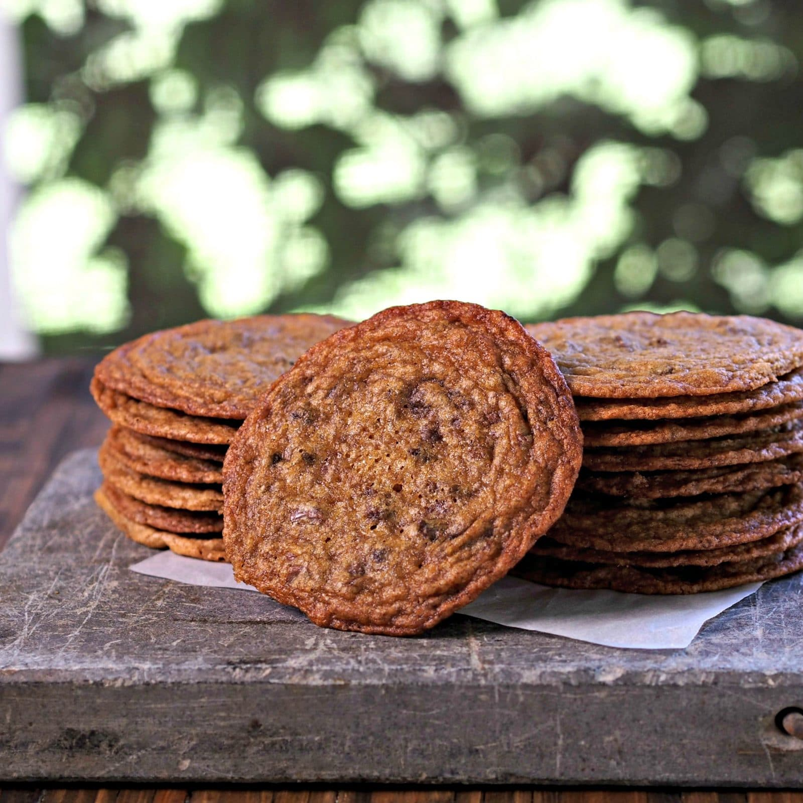 Cow Chip Cookies. These chewy, buttery, chocolatey cookies w/crispy edges will become a family-favorite chocolate chip cookie. I dare you to eat just one. Simply Sated