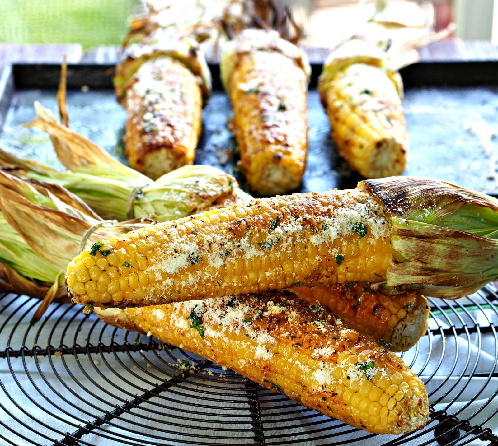 Grilled CornSimply Sated