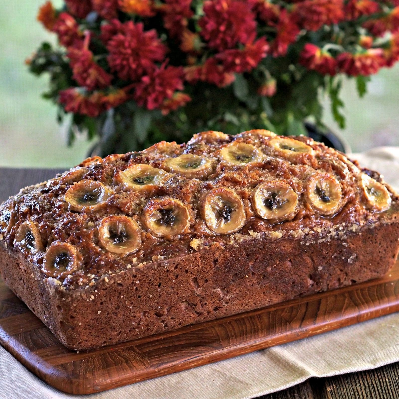 Orange Spice Banana Bread Simply Sated