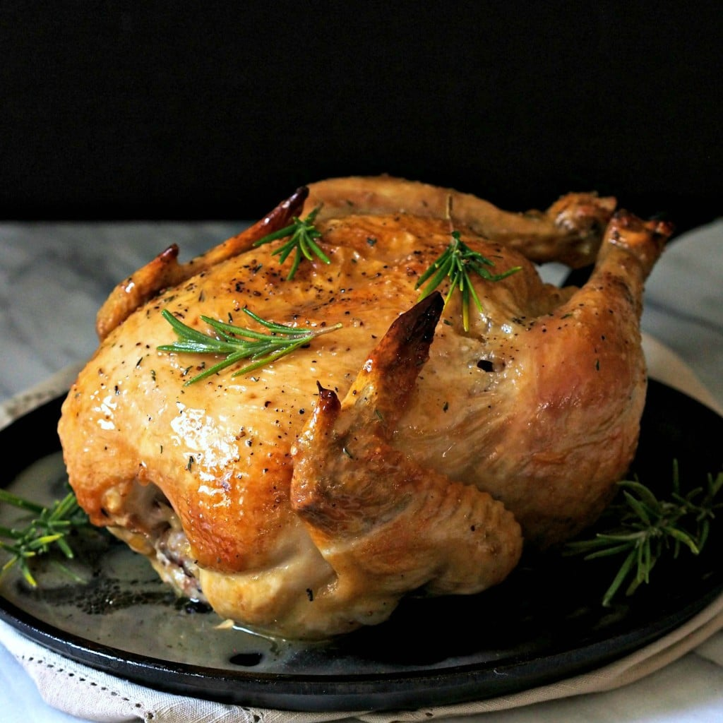 Perfect Roast Chicken | Simply Sated
