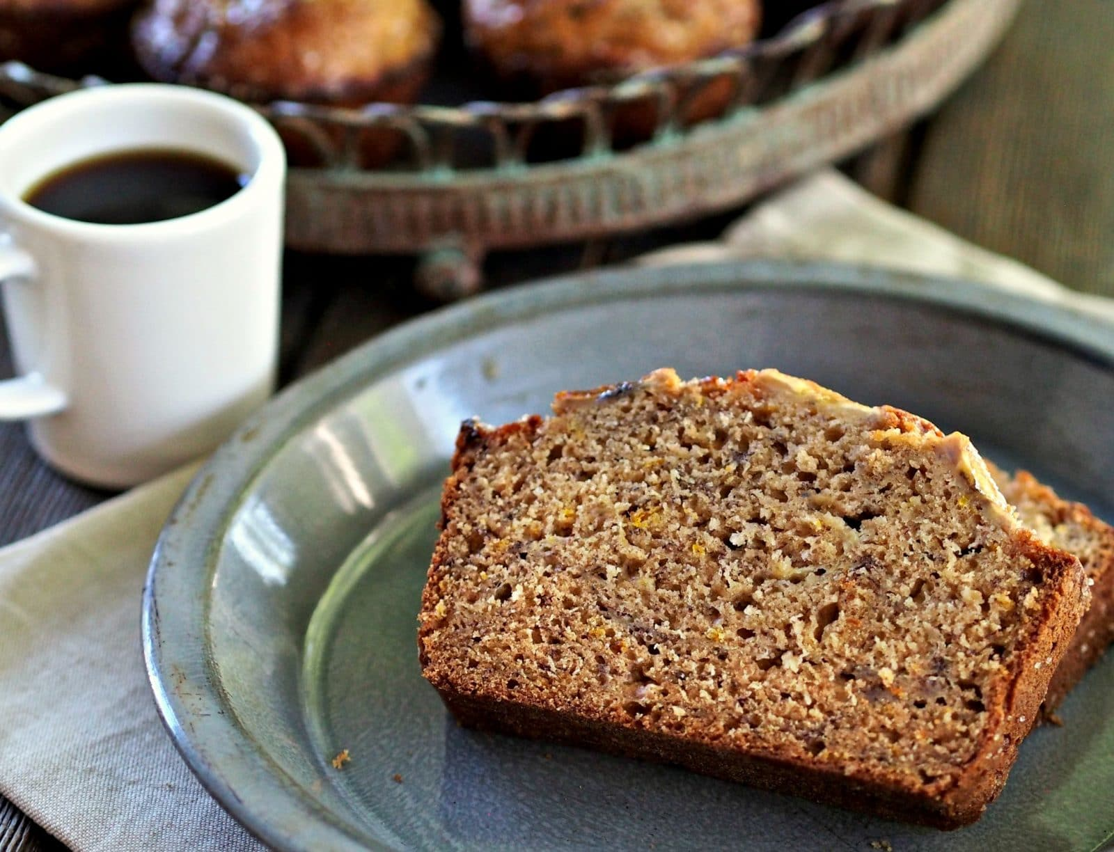 Orange Spice Banana Bread & Muffins. The BEST Banana Bread-ever! Moist ...
