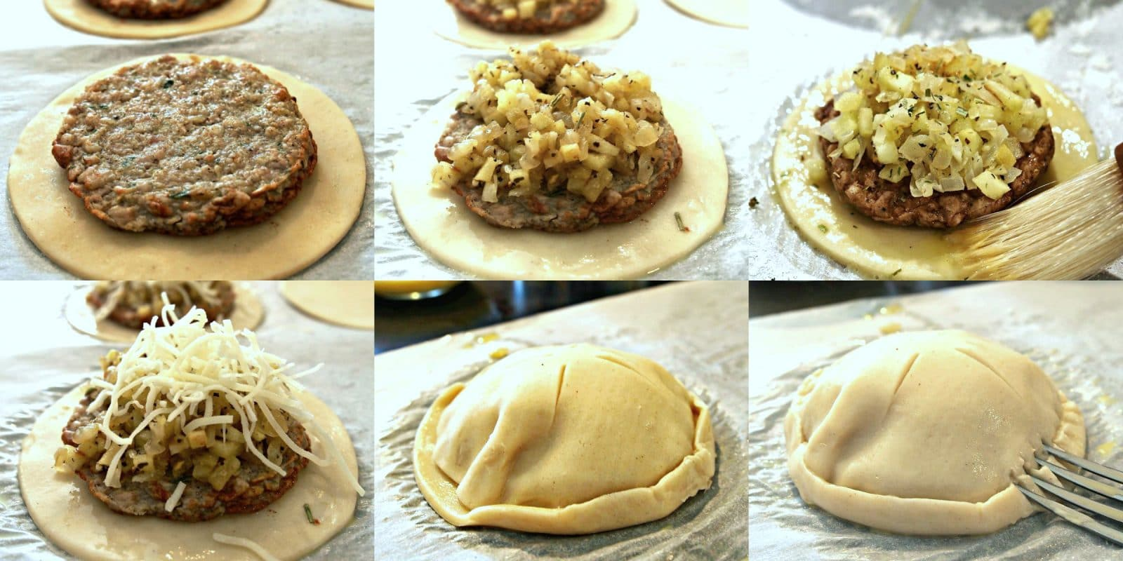 -simply sated Jones Dairy sausage hand pies (collage y) PicMonkey Collage