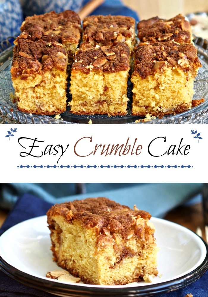 Easy 7-Up Coffee Cake is the perfect coffee cake. It is tasty enough for any special breakfast or brunch and easy enough to make for any day of the week. Simply Sated