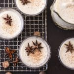 Traditional Eggnog is frothy, the flavors and spices perfectly balanced, and it's smooth with no aftertaste. One sip and you know Christmas is near. Simply Sated