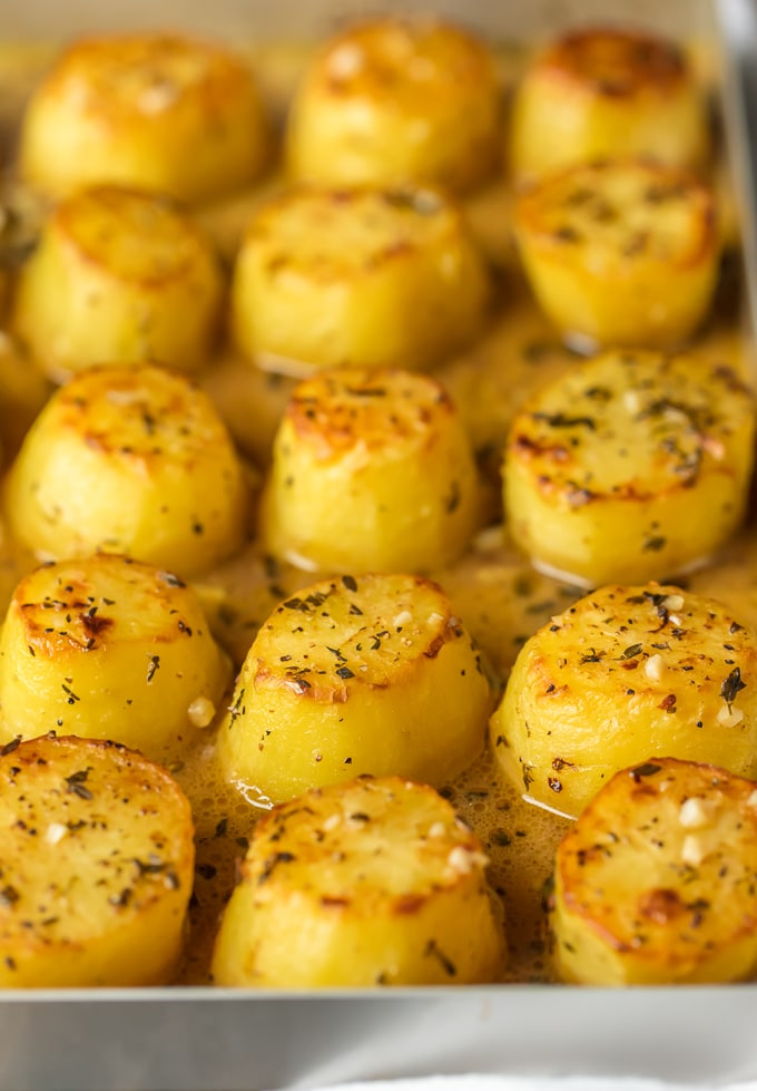 Oven Roasted Melting Potatoes Simply Sated